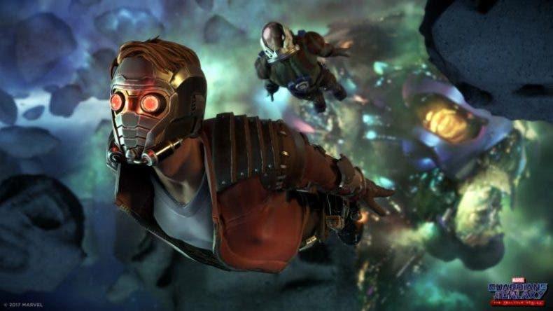 Así es la Xbox One de Guardianes de la Galaxia 1