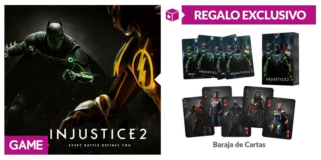 GAME regala corazones y picas por la reserva de Injustice 2 2