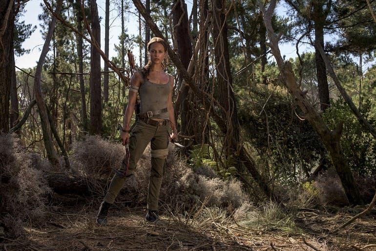 """Nuevas imágenes de la película de Tomb Raider, que explotará el """"lado más humano"""" de Lara Croft 2"""