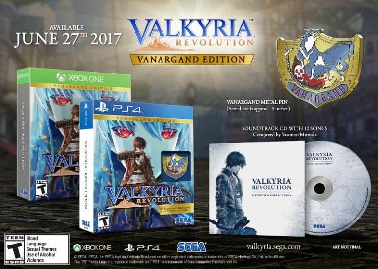 Valkyria Revolution llegará en junio a Xbox One 2