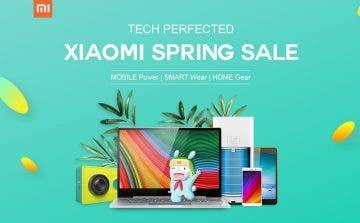 Grandes ofertas de Xiaomi en GearBest por primavera 14