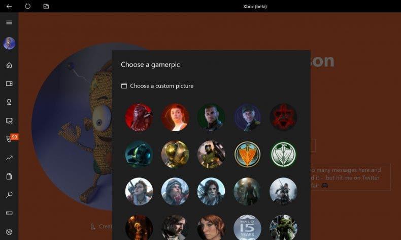 Cambiar tu imagen de jugador de Xbox Live por una personalizada es posible 1