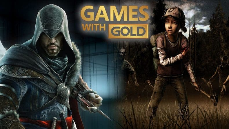 Consigue gratis The Walking Dead: Season Two y Assassin's Creed Revelations vía Games With Gold 1
