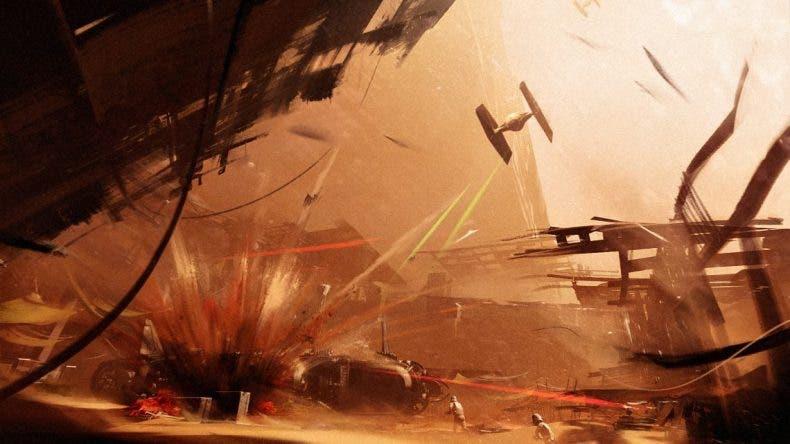 La beta de Star Wars: Battlefront II en Xbox One S vs PS4 Pro 1
