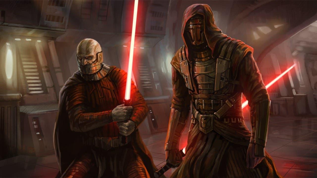Los clásicos Star Wars: Caballeros de la Antigua República verían la luz en consolas este año 1