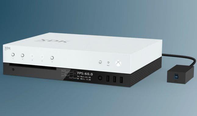 El kit de desarrollo de Xbox Scorpio es todavía más potente, especificaciones 1