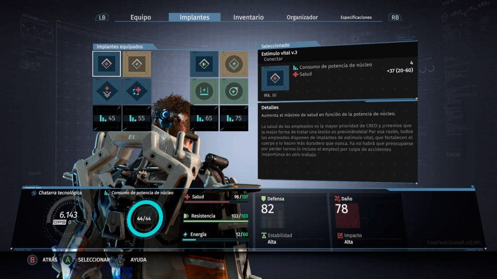 Análisis de The Surge - Xbox One 4