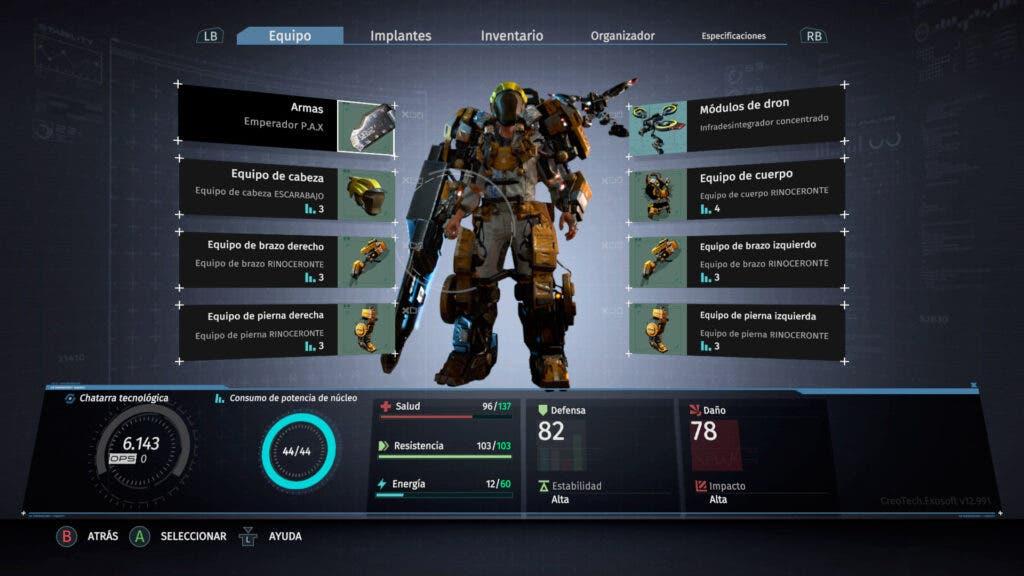 Análisis de The Surge - Xbox One 2
