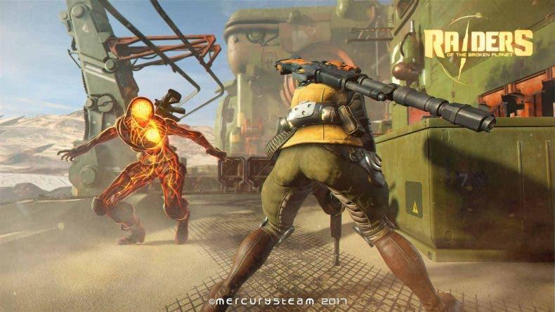 """Raiders of the Broken Planet """"dejará sin aliento"""" en su versión para Xbox One X 1"""