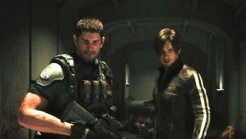Chris Redfield y Leon S. Kennedy se llenan de sangre en Resident Evil: Vendetta 15