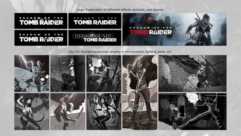 Shadow of the Tomb Raider se podría haber filtrado debido a diversos logos y arte 2