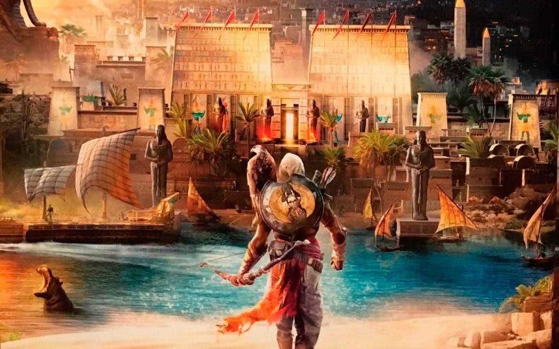 Cara a cara de las versiones de Assassin's Creed Origins en Xbox One X y PS4 Pro 1