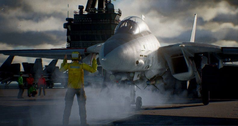 El F-18 Hornet como protagonista del nuevo gameplay de Ace Combat 7: Skies Unknown 1