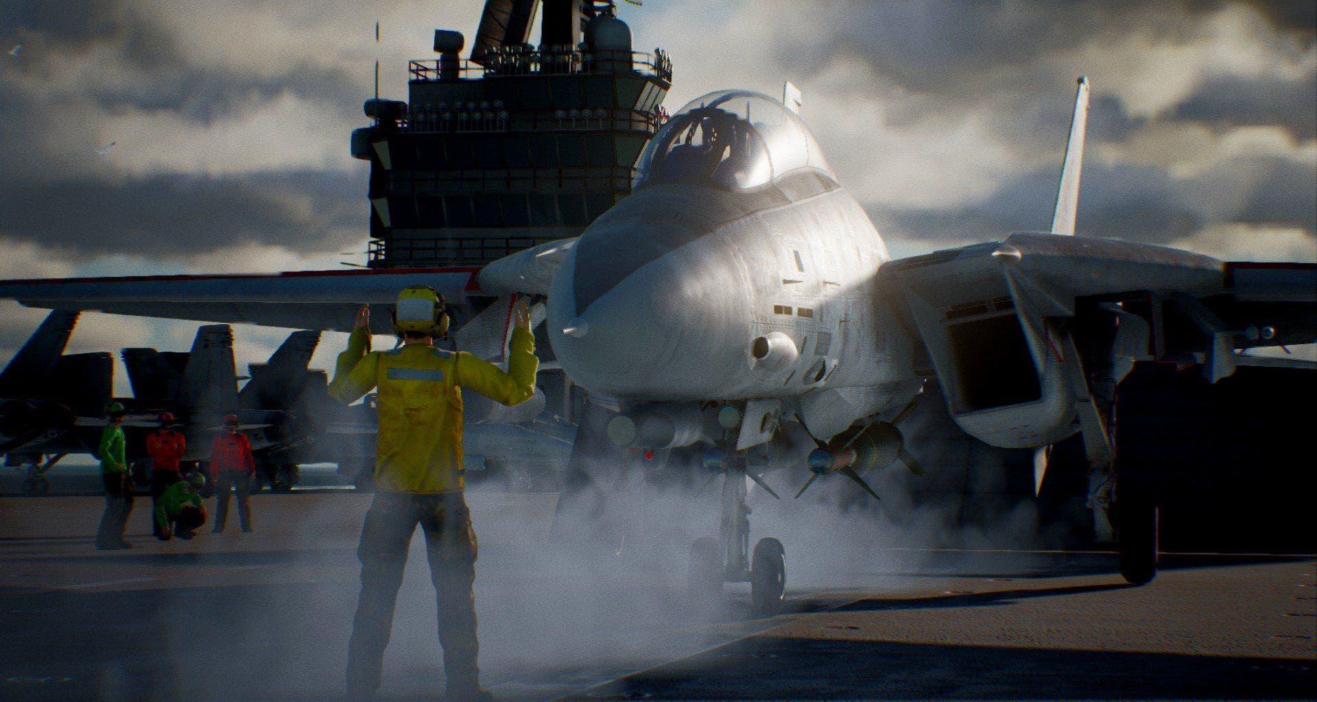 Ace combat 7 skies unknown incluir hasta 30 aviones de for Combat portent 30 18