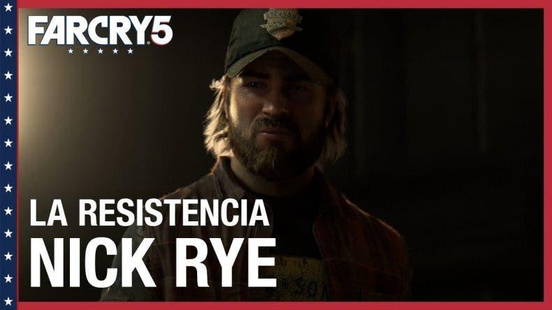 Nick Rye, la muerte desde el cielo de Far Cry 5, protagonista de un nuevo gameplay 1