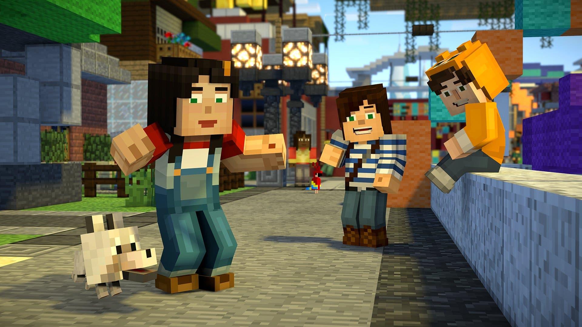 Resultado de imagen para Minecraft Story Mode 1