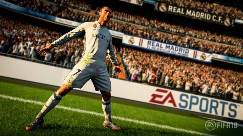 Gameplay de FIFA 18 mostrando el nuevo sistema de fichajes 1