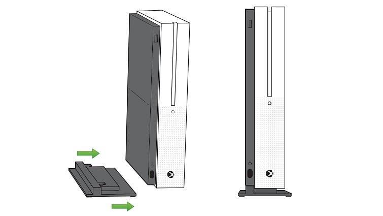 Xbox One X contará con un soporte vertical 2