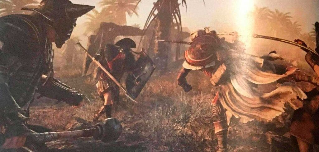 Assassin's Creed: Origins ofrecerá gran cantidad de contenido transmedia para su ambientación 3