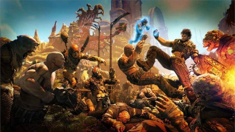 La actualización 4K para Xbox One X de Bulletstorm: Full Clip Edition llega hoy 1