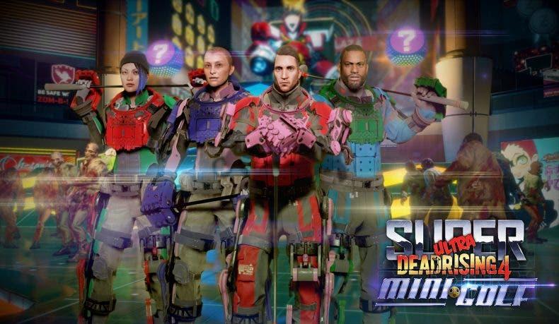 Dead Rising 4, el DLC Super Ultra Dead Rising 4 Mini Golf ya tiene fecha de lanzamiento 1