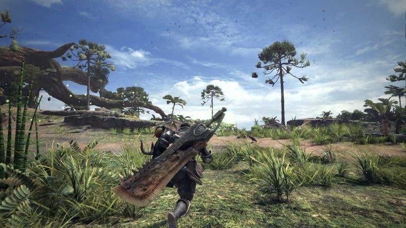 Gameplay del multijugador de Monster Hunter World 1