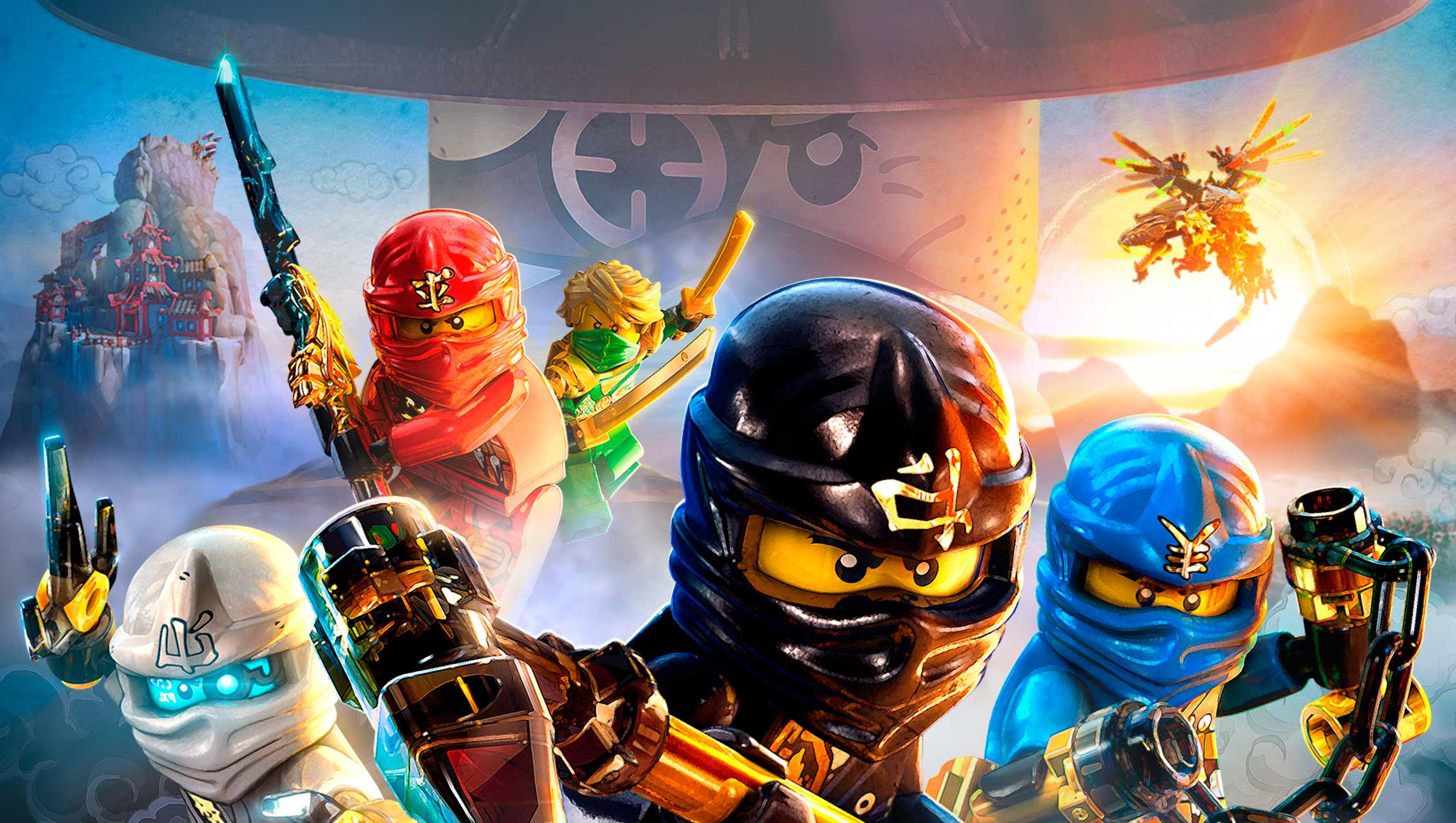 El juego de la lego ninjago pel cula es oficial somosxbox - Ninjago jeux gratuit ...