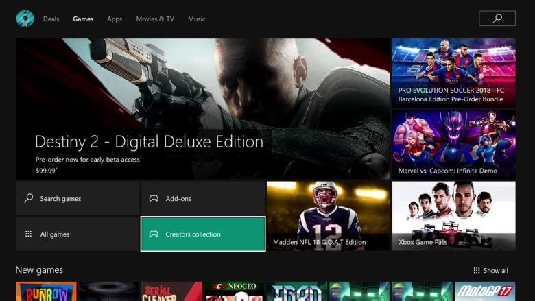 Muy pronto podremos marcar favoritos y regalar juegos de Xbox Store 1