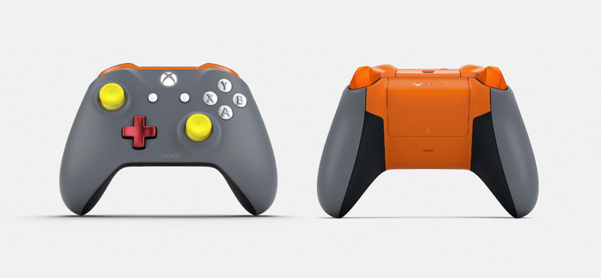 Los mandos de SomosXbox con Xbox Design Lab 2