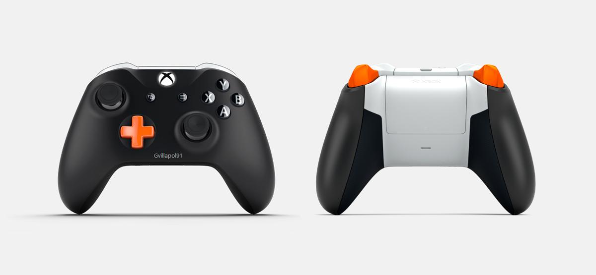 Los mandos de SomosXbox con Xbox Design Lab 3