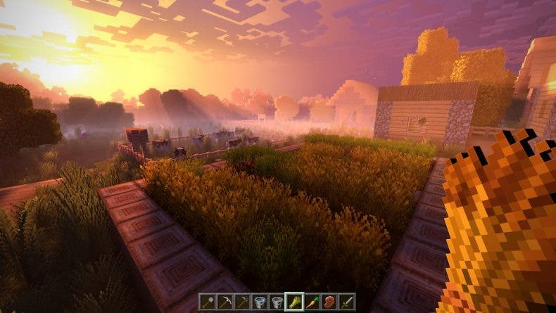 ¿Qué ha sido de Minecraft a 4K en Xbox One X y el Super Duper Graphic Pack? 1