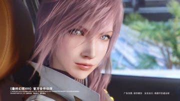 Lightning de Final Fantasy XIII vuelve para un anuncio de coches 9