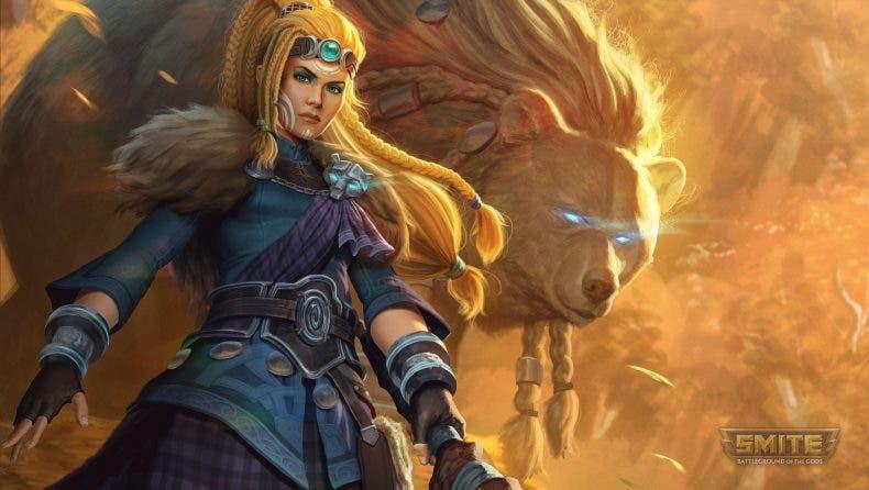 Descubre a Artio, la nueva diosa que llega a Smite 1
