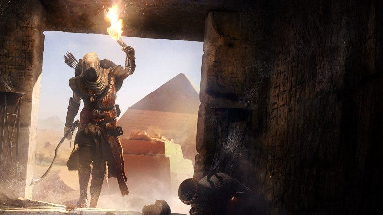 Nuevo gameplay de 20 minutos de Assassin's Cred Origins a 4K en Xbox One X 1
