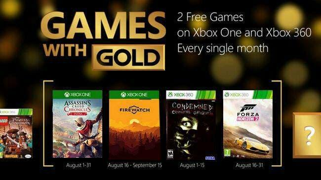 [Desmentido] Rumores de los Games With Gold de agosto 2017 2