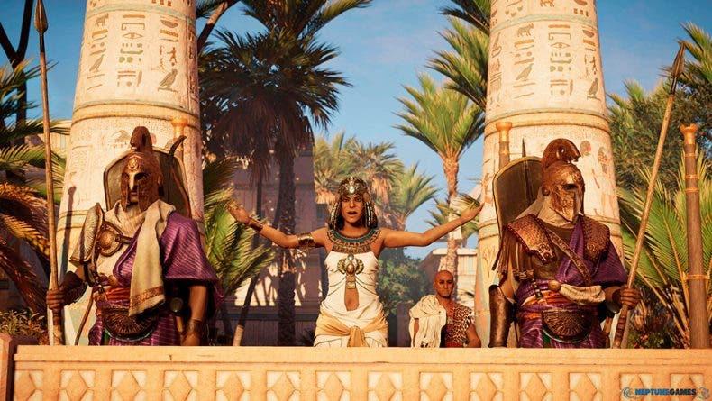 Parece que Assassin's Creed Origins corre mejor en Xbox One X que en PC 1