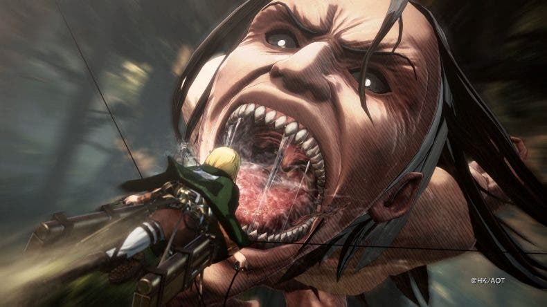 Attack on Titan 2, anunciada la posibilidad de crear un personaje personalizable 1