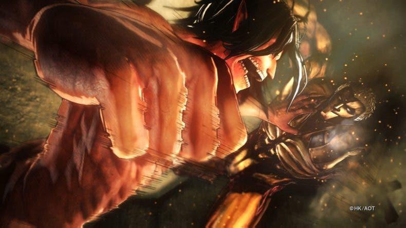 Un nuevo tráiler muestra el sistema de combate de Attack on Titan 2 1