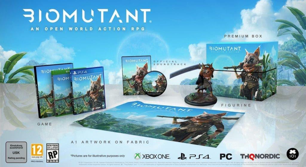 Se confirma oficialmente Biomutant, un nuevo RPG de mundo abierto 2