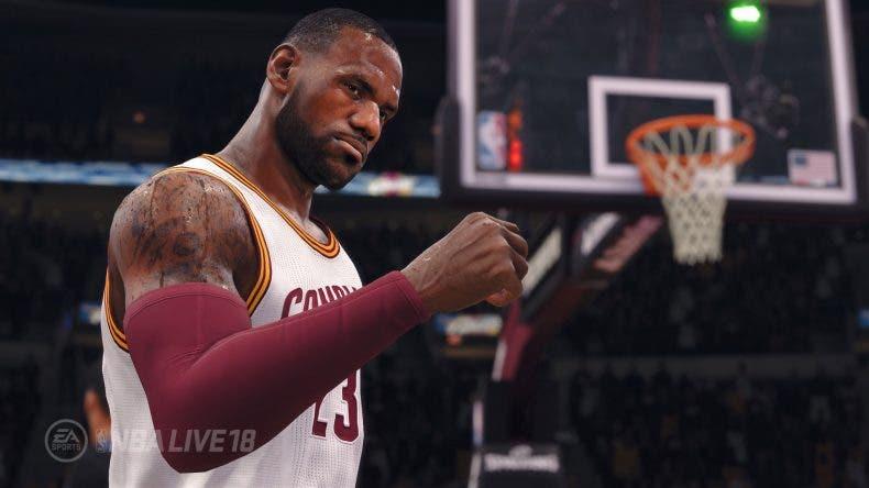 NBA Live 18 dará soporte a Xbox One X 1