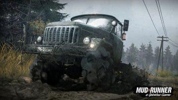 Enfrentándose a la naturaleza sobre cuatro ruedas en el trailer y gameplay de Spintires: MudRunner 14