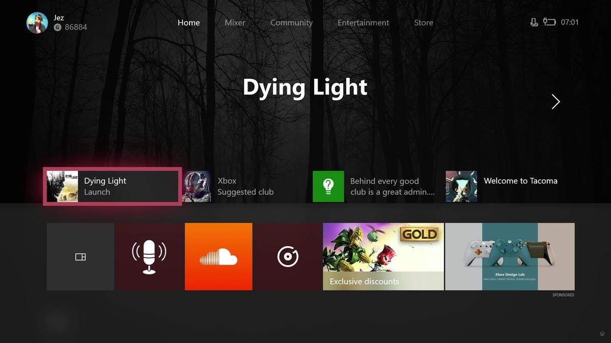 Así es la nueva actualización de Xbox One 2