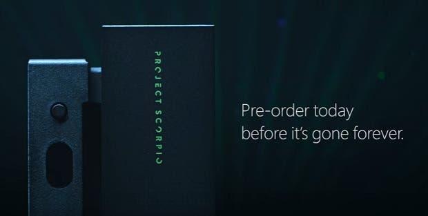 Xbox One X Edición Project Scorpio arrasa: reservas agotadas y más vendido en Amazon 1