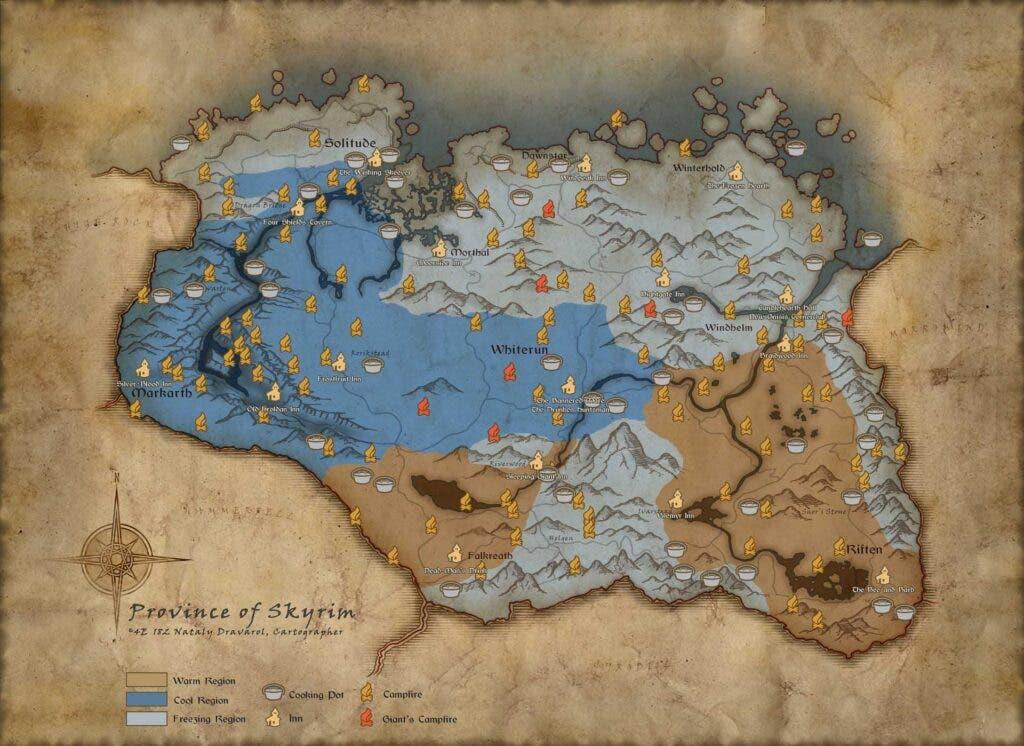 Sobrevive a Skyrim en el nuevo modo survival que llegará en octubre 3