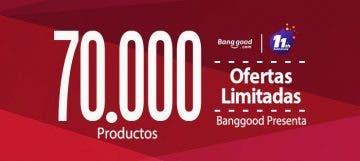 Intensa semana de ofertas en Banggood por su 11 aniversario 19