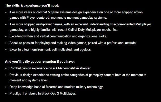 Treyarch filtra un nuevo Call of Duty moderno. ¿Black Ops 4 en camino? 3