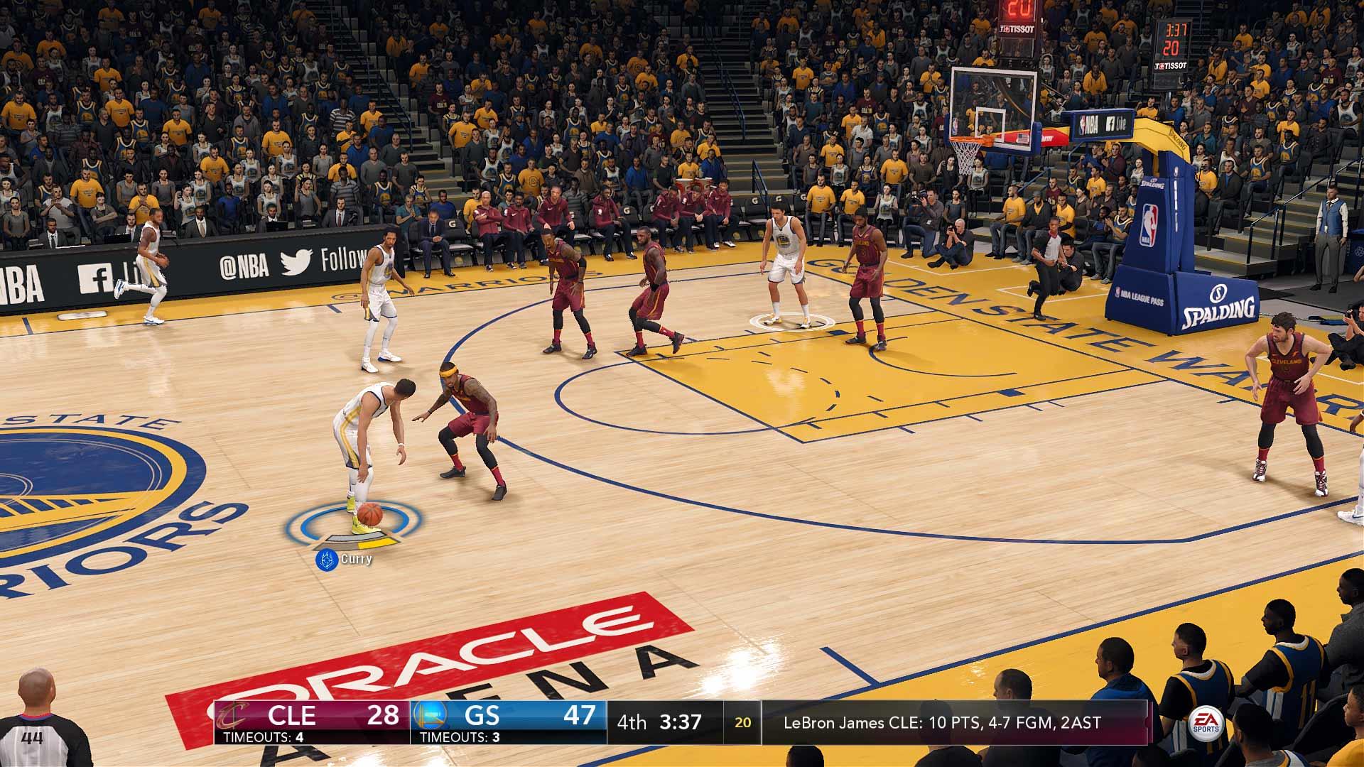 Análisis de NBA Live 18 - Xbox One 2