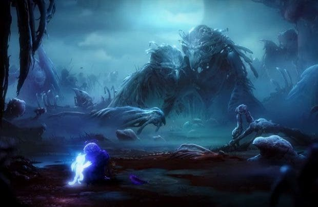 Espectacular Xbox One X inspirada en Ori and The Will of The Wisps 1
