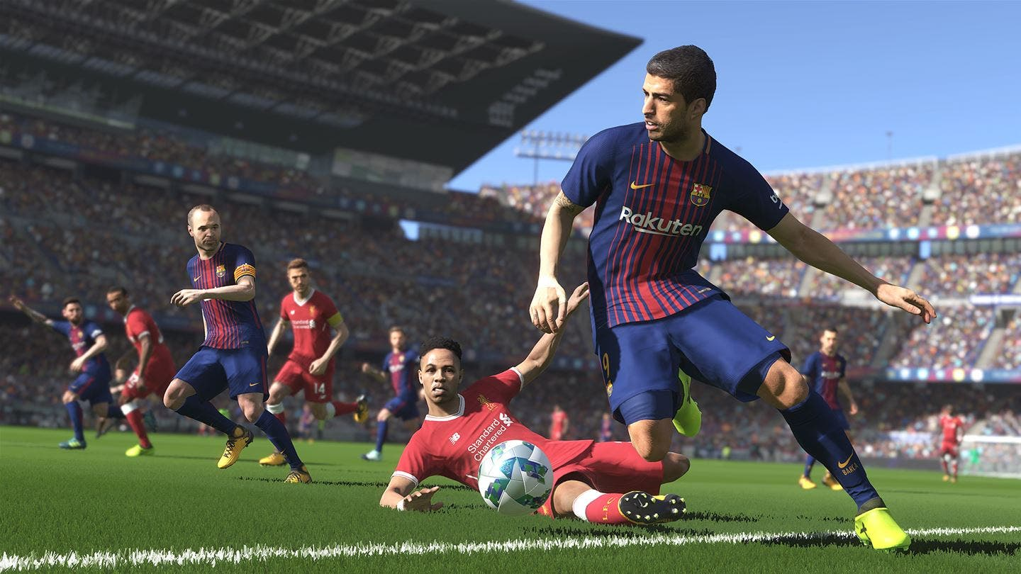 Analisis De Pes 2018 Xbox One Somosxbox