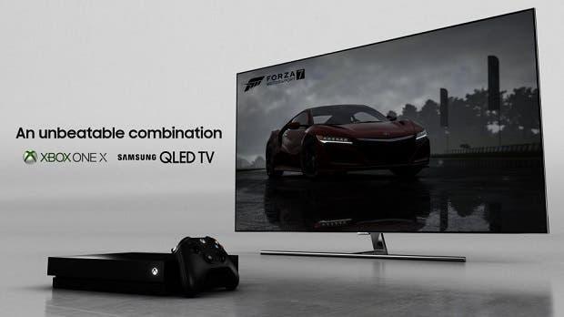 Xbox One X y Samsung se unen para ofrecer la mejor experiencia en 4K 1